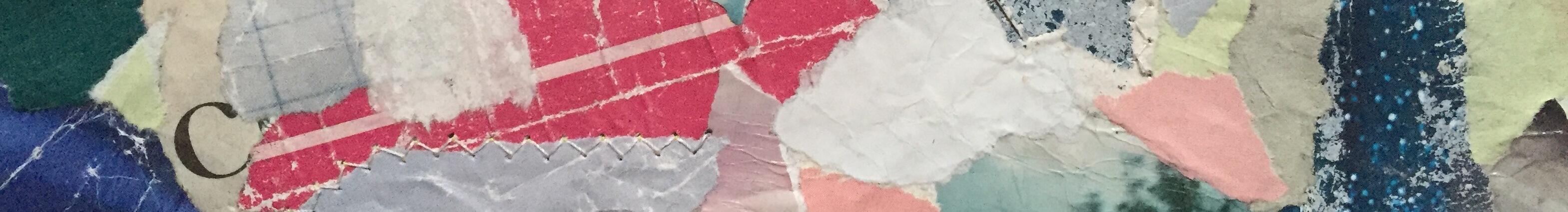Collage Briefkasten Landkarte Ausschnitt Kontakt