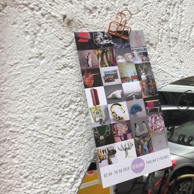 Flyer HEALING, Paulina's friends, 2018, (c) hehocra