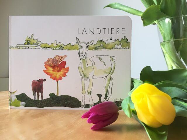 """Kinderbuch """"Landtiere"""" vom Eichhörchenverlag mit Susanne Haun, (c) hehocra"""