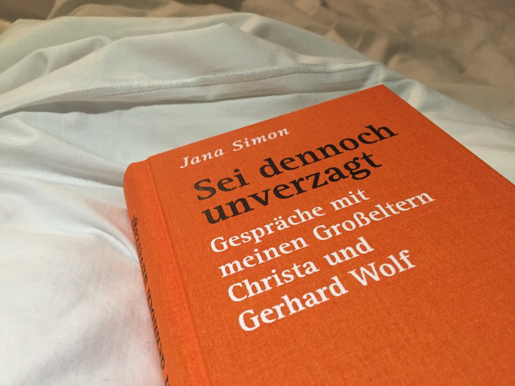 """Buch """"Sei dennoch unverzagt"""" von Jana Simon"""