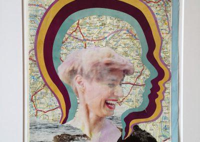 Lachen bunt, Collage, Papier, 20 x 29 cm, 2015, (c) hehocra
