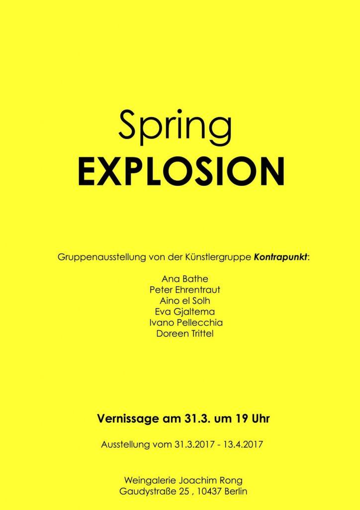 Spring EXPLOSION, 2017