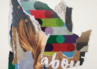 Love about you 2/3, Collage, Papier, 2016, (c) hehocra