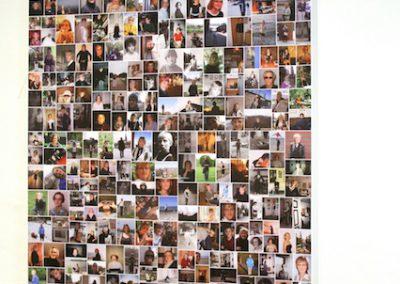 40 Jahre ICH, Poster mit altem Bildmaterial/ Fotografien, 84 x 118, 2013, (c) hehocra