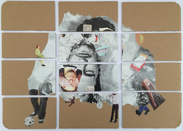 Halluzination 1, Collage, (c) hehocra
