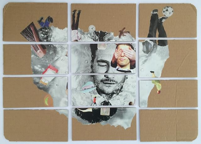 Halluzination, Collage, (c) hehocra