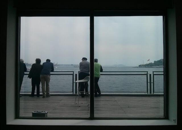 Blick aus der Istanbul Modern, 2014
