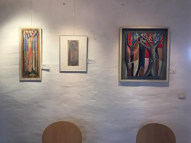 Bilder der Künstlerin Barbara Bock