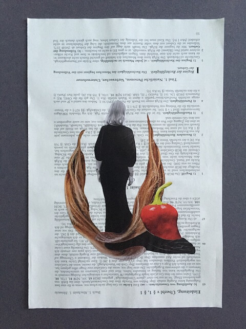 Eine Frau..., Collage, 2016, (c) hehocra