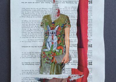 Ein Hase präsentiert sich, Collage, 2016, (c) hehocra