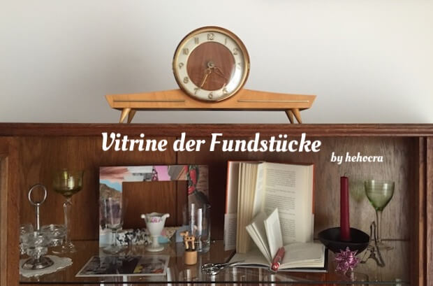Vitrine der Fundstücke 02|18