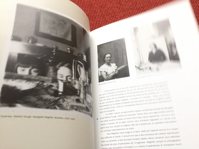 """Katalog zur Ausstellung """"Magritte et la photographie"""", Einblick by hehocra"""