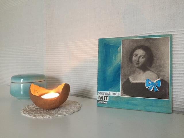 Sternstunde mit Schleifen, Collage by Lucia, Schreibtischwelten