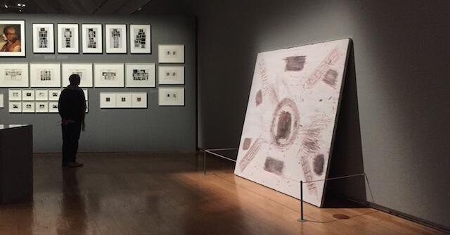 Ulay Life-Sized, Ausstellung Ausschnitt mit Bildern, by hehocra