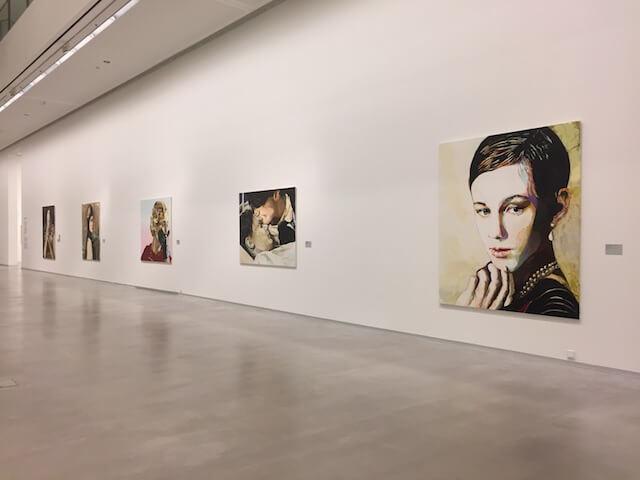 Blick in die Ausstellung von Cornelia Schleime: Malerei; by hehocra