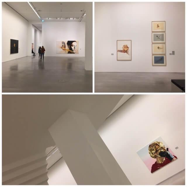 Blick in die Ausstellung von Cornelia Schleime: Malerei und Zeichnungen; by hehocra
