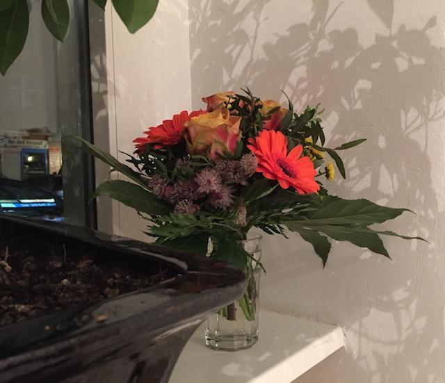 Vernissage Mutabor, Blumenstrauß, (c) hehocra