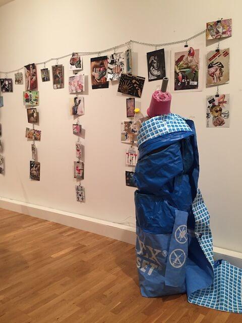 ...daDa im Kopf - Mail Art Ausstellung in Berlin, Foto by hehocra
