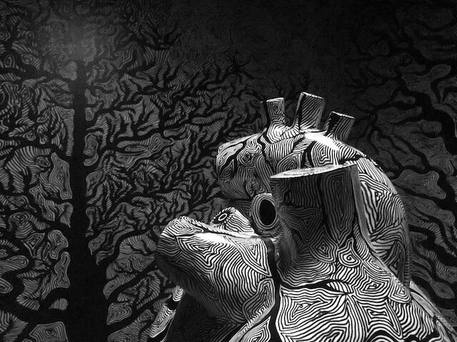 LiveLife in der Galerie Baku-Berlin, 2017, Foto by hehocra