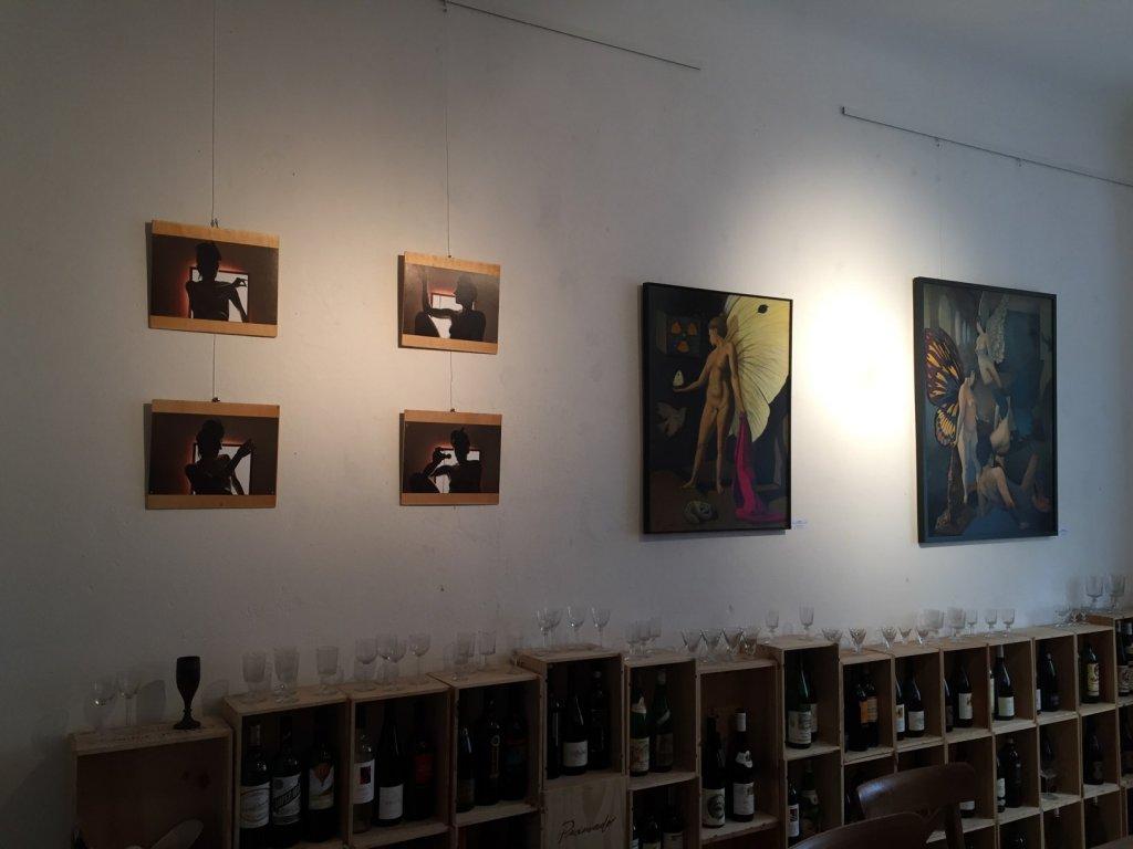 Fotografien von Aino el Solh (links) & Malerei von Ivano Pellecchia, Fotos by hehocra