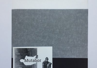 Mutabor, Collage, 2/3, 29 x 28 cm, (c) hehocra