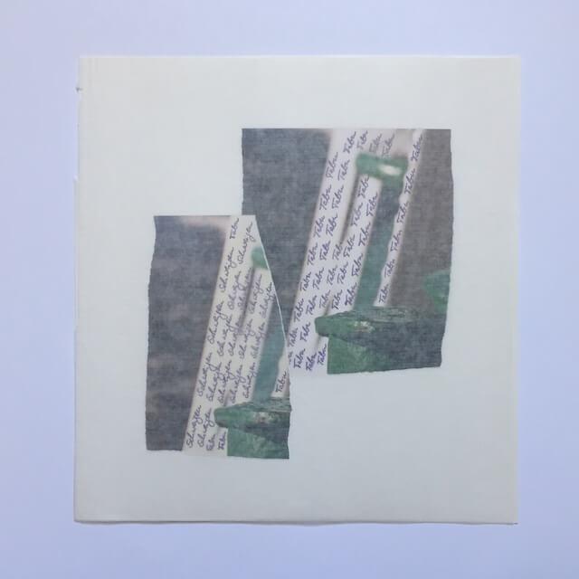 schweigen (1), Collage, 28 x 29 cm, 2016, (c) hehocra