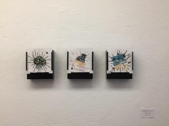 Schießen für den Frieden, Teil 2, Installation, je 15 x 16 cm, 2017, (c) Doreen Trittel