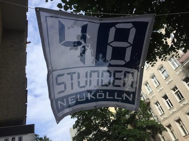 Super war es, auf dem Kunstfestival 48-h-Neukölln 2017