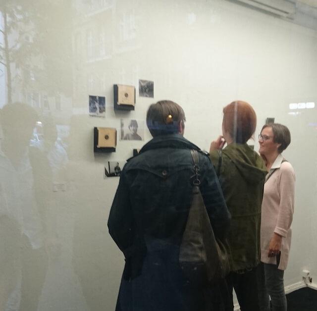 im Gespräch, 48-h-Neukölln, Ausstellung, (c) hehocra