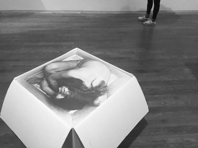 Kirsten Justesen, Sculpture #2, 1969, Fotografie und Karton