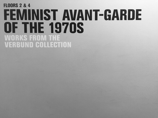 Ausstellung: Feminist Avant-Garde of the 1970s, London