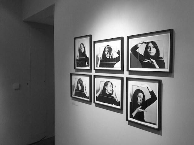 Katalin Ladik, Poemim (Series A), 1978, Fotografien