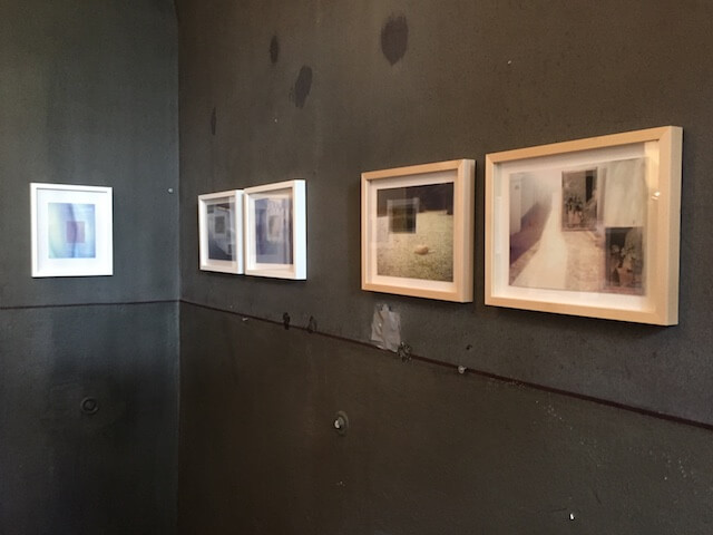Transparency, Collagen/Mixed Media, 2017,Foto Inkjetdruck, Negativfilm, Klebeband,20 x 15,5 cm und 19 x 24,5 cm,, gerahmt 24 x 30 cm, Eva Gjaltema