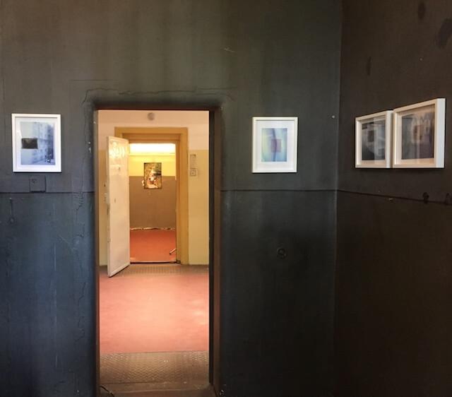 Transparency, Collagen/Mixed Media, 2017,Foto Inkjetdruck, Negativfilm, Klebeband,20 x 15,5 cm und 19 x 24,5 cm, gerahmt 24 x 30 cm, Eva Gjaltema