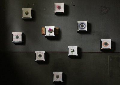 Schießen für den Frieden, Teil 2, Installationin der Zelle 8, ehemaliges Frauengefängnis SOEHT7, Berlin, (c) Doreen Trittel