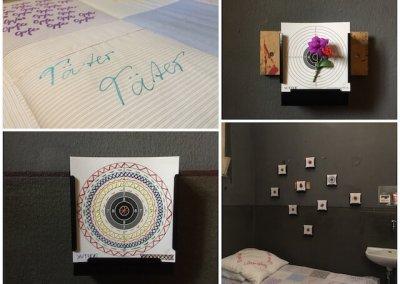 Opfer-Täter und Täter-Opfer, Installation, Detail, (c) Doreen Trittel