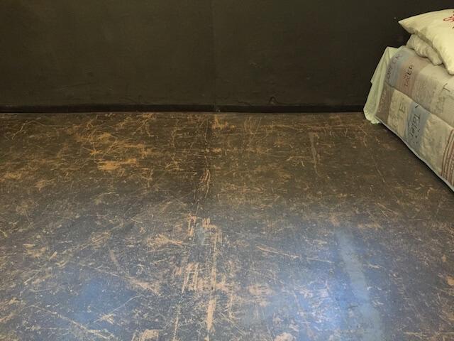 Fußboden und Installation Zelle 8, Soeht7, (c) Doreen Trittel