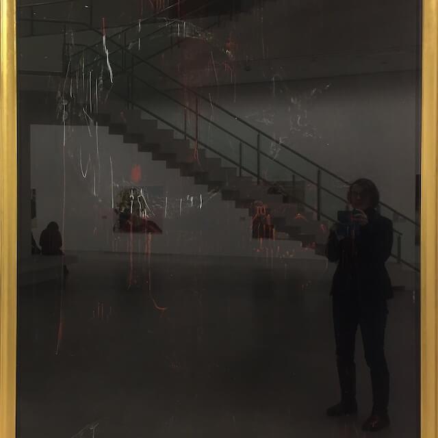 Spiegelung in der Berlinischen Galerie, 2017, (c) hehocra
