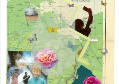 Veränderung 2, Collage, 30 x 40 cm, 2018, (c) Doreen Trittel
