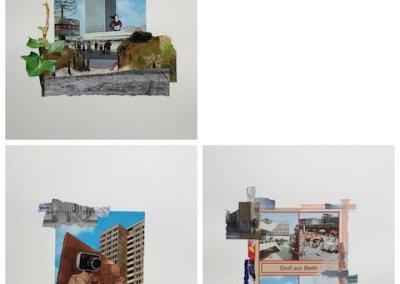 Postkartengrüße aus Berlin, Hauptstadt der DDR, Collagen-Serie, 2013, (c) Doreen Trittel