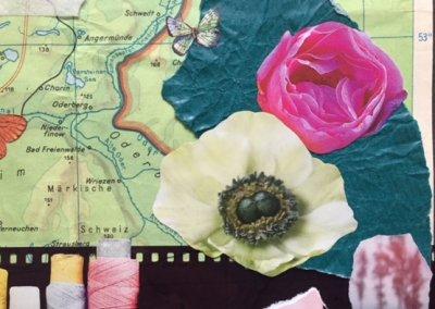 Veränderung 2, Collage, Detail, 2018, (c) Doreen Trittel