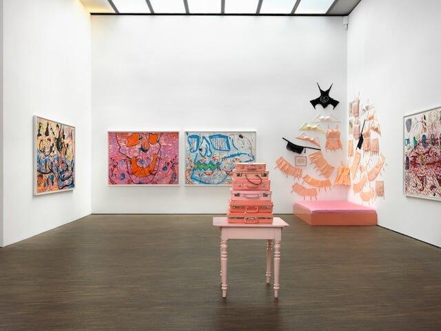 Eva & Adele, l'lamour du risque, Installationsansicht, 2018, (c) me Collectors Room Berlin, Foto Bernd Borchardt
