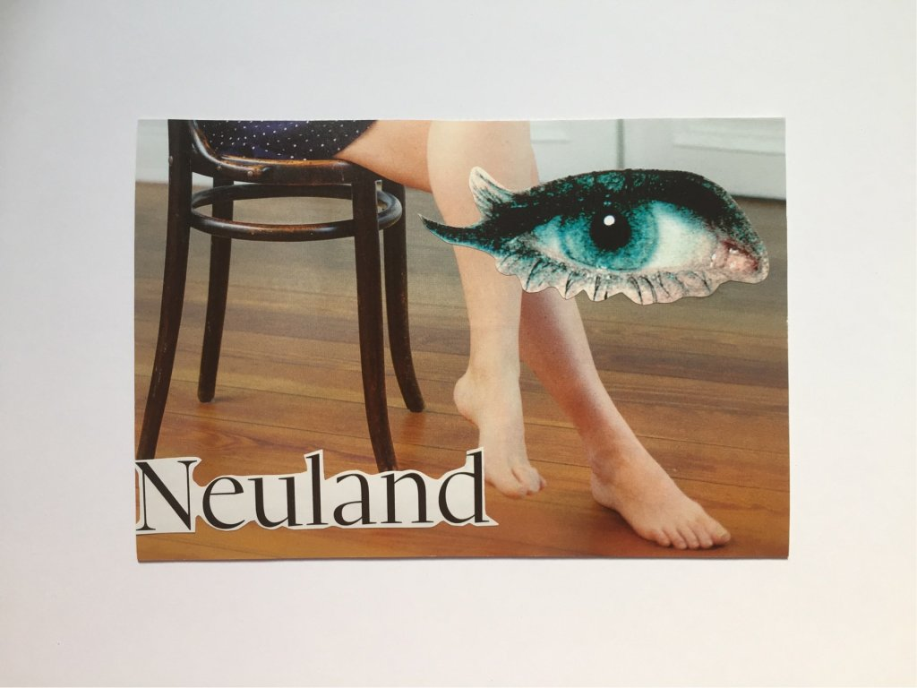 Neuland. Collage, 10x15 cm, 2018, (c) Doreen Trittel