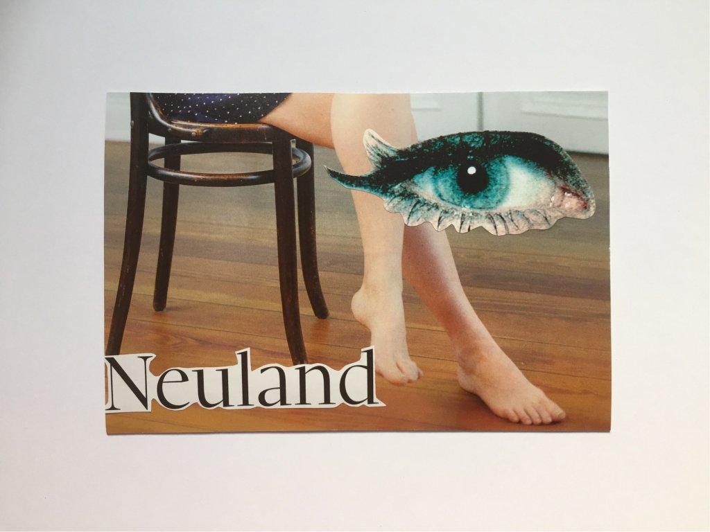 Neuland. Collage, 10x15 cm, 2018, (c) Doreen Trittel