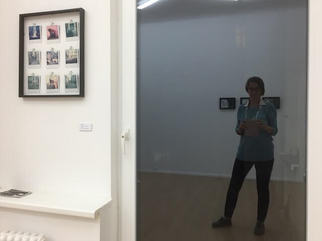 Polaroids von Carla Pohl & Selbstporträt im Spiegelbild