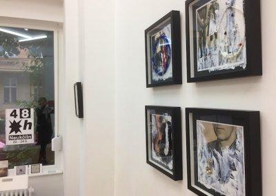 Die Ketten meiner Oma, beim Kunstfestival 48 Stunden Neukölln, 2018, (c) Doreen Trittel