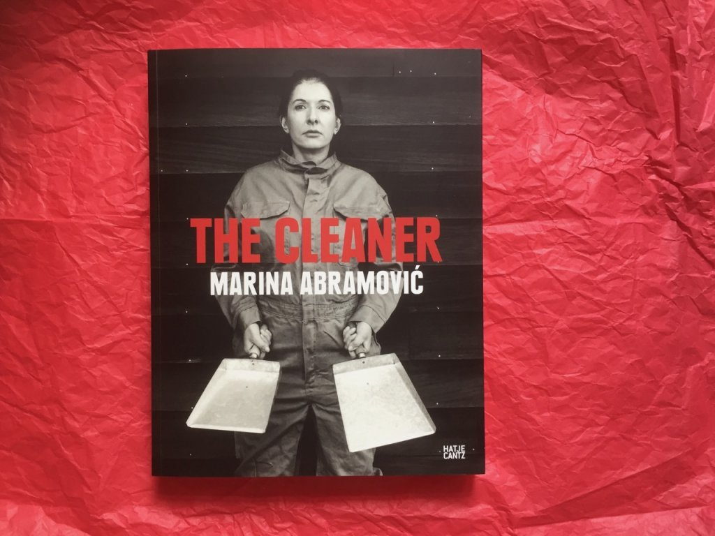 """The Cleaner"" Marina Abramovic, Foto by Doreen Trittel"