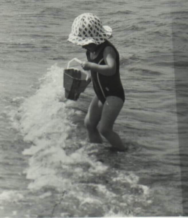 Kind beim Spiel in der Ostsee, (c) Doreen Trittel, Privatarchiv