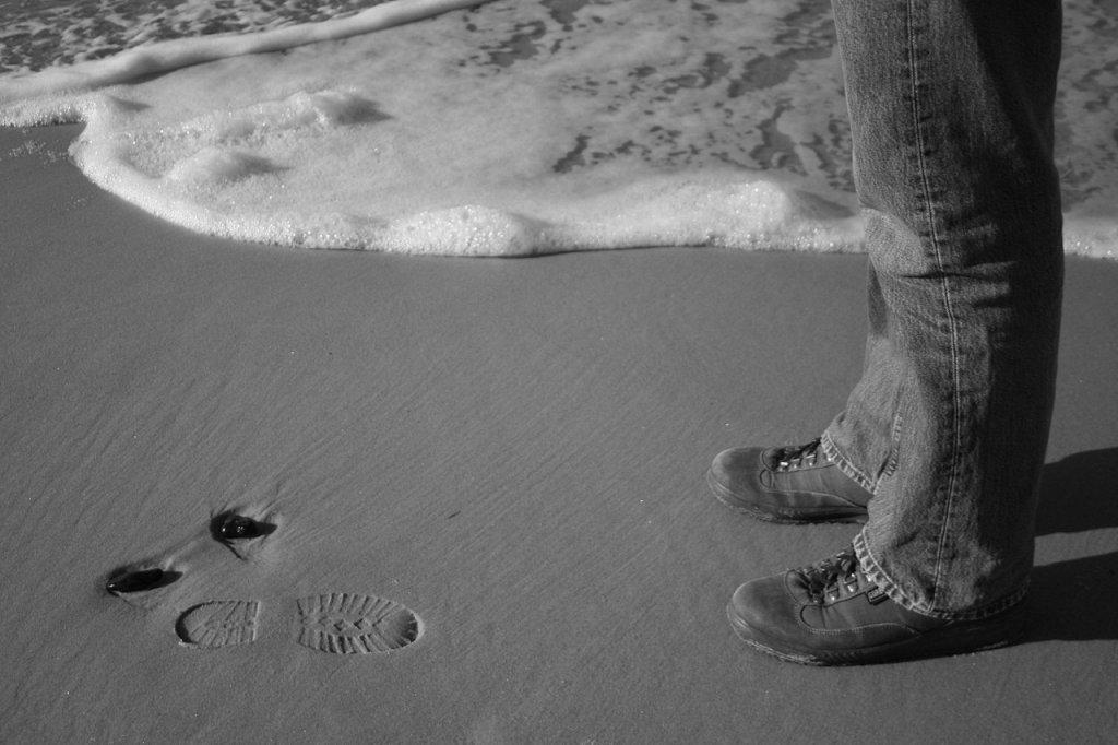 Sich selbst begegnen, Ostsee, Darß, 2008, (c) Doreen Trittel