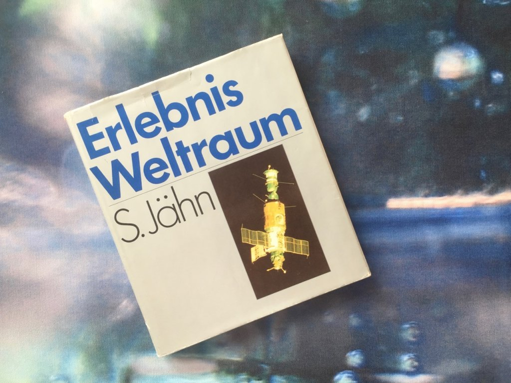 Erlebnis Weltraum, Sigmund Jähn, DDR-Buch, Foto by hehocra